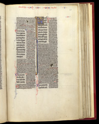 Beginning of St Paul's Letter to the Ephesians, with Commentary, in a Copy of the Pauline Epistles With Explanatory Notes